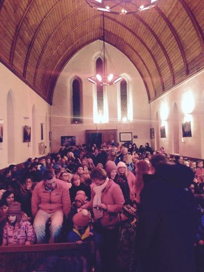 A full Eglise Reformee 14/12/14