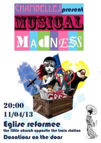 Musical Madness 2013